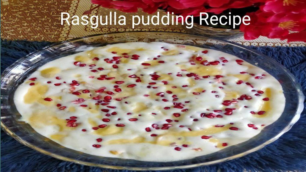 Rasgulla Pudding Recipe | Easy Dessert Recipe | Summer Dessert Recipes