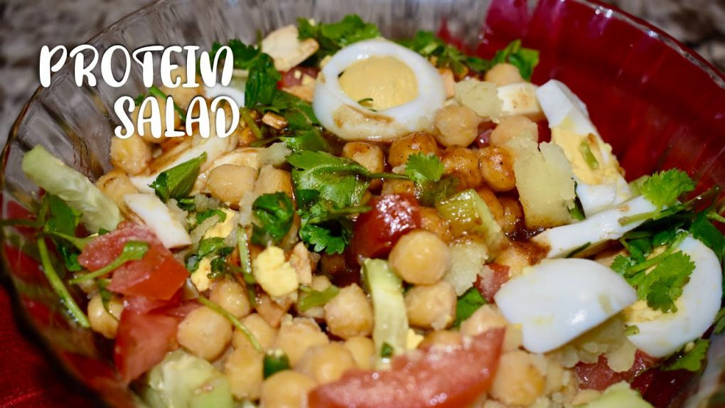Your Most Favorite Protein Salad Recipe|Easy and Healthy Ramadan Meal