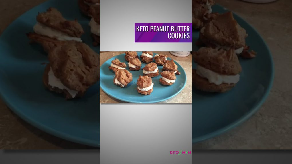 KETO PEANUT BUTTER COOKIES | KETO RECIPES