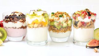 4 Healthy Breakfast Parfaits | Quick & Easy Breakfast Recipes