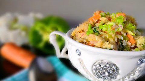 Keto Diet Recipe Cauliflower Rice | Keto Vegetarian Recipes | Keto Recipes | Food Darbar