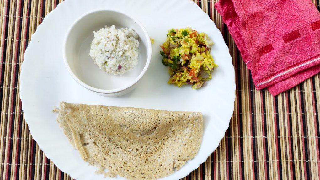 Keto Dosa | Avocado Salad | Variety Breakfast Combo | Keto Recipes | LCHF Diet