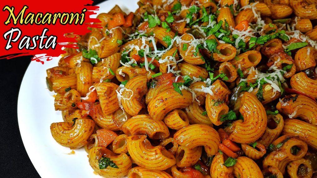 Macaroni Recipe | Indian Style Macaroni Pasta Recipe | Masala Macaroni | Veg Macaroni Pasta Recipe