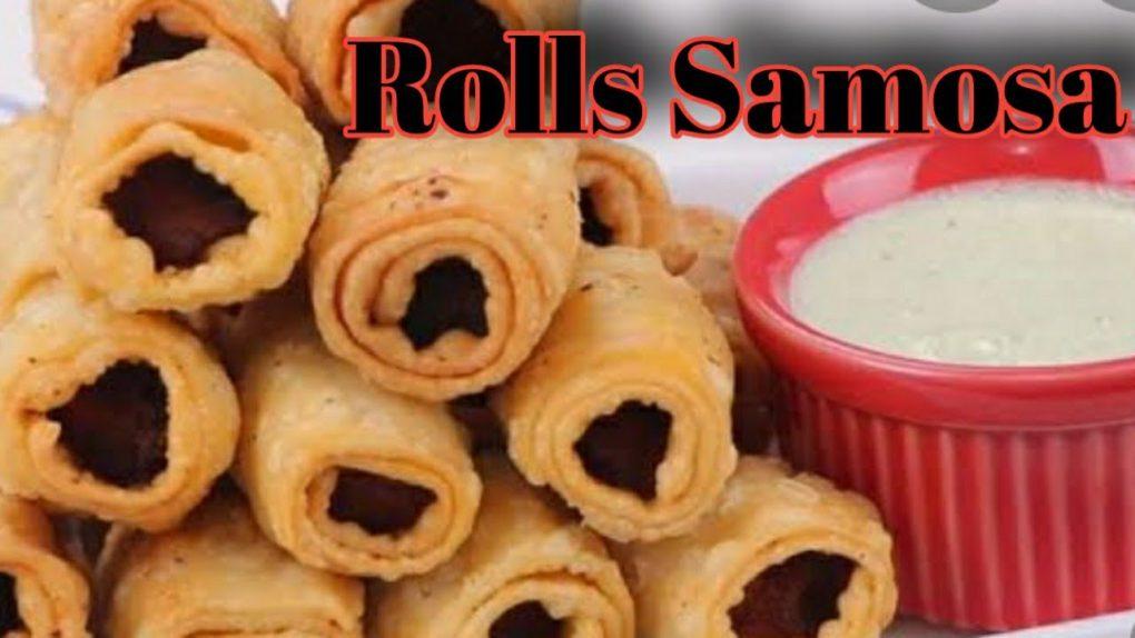 Rolls Samosa Recipe/Ramdan spacial recipe/Patato samosa Recipe/Cooking mary style main