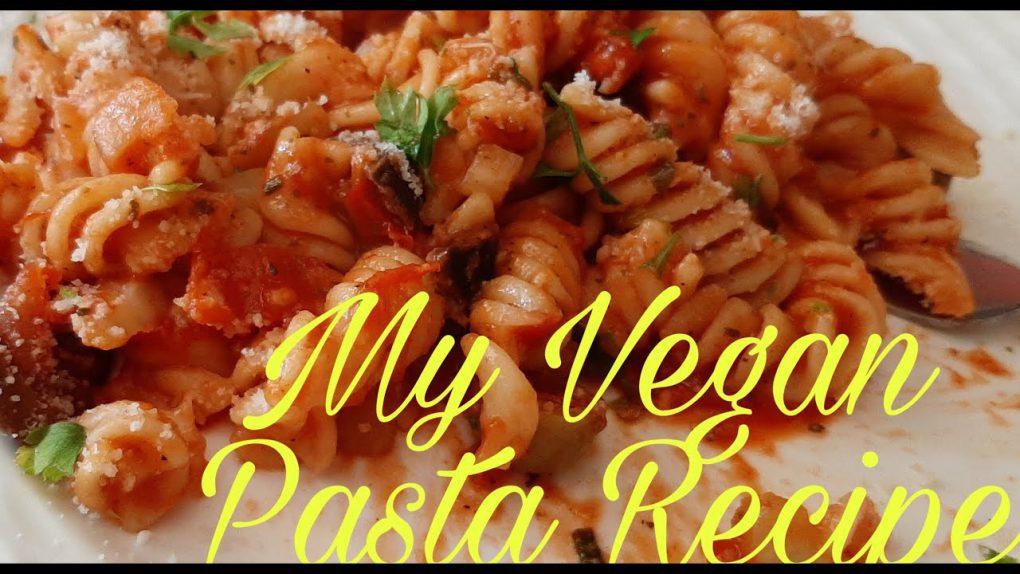 Vegan Pasta Recipe|Cooking Vlog
