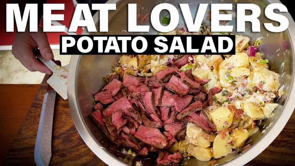 MEAT LOVERS POTATO SALAD | Recipe | BBQ Pit Boys
