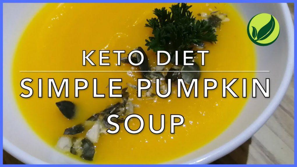 Keto Diet Simple Pumpkin Soup | Best Keto Diet Recipe For Weight Loss #30