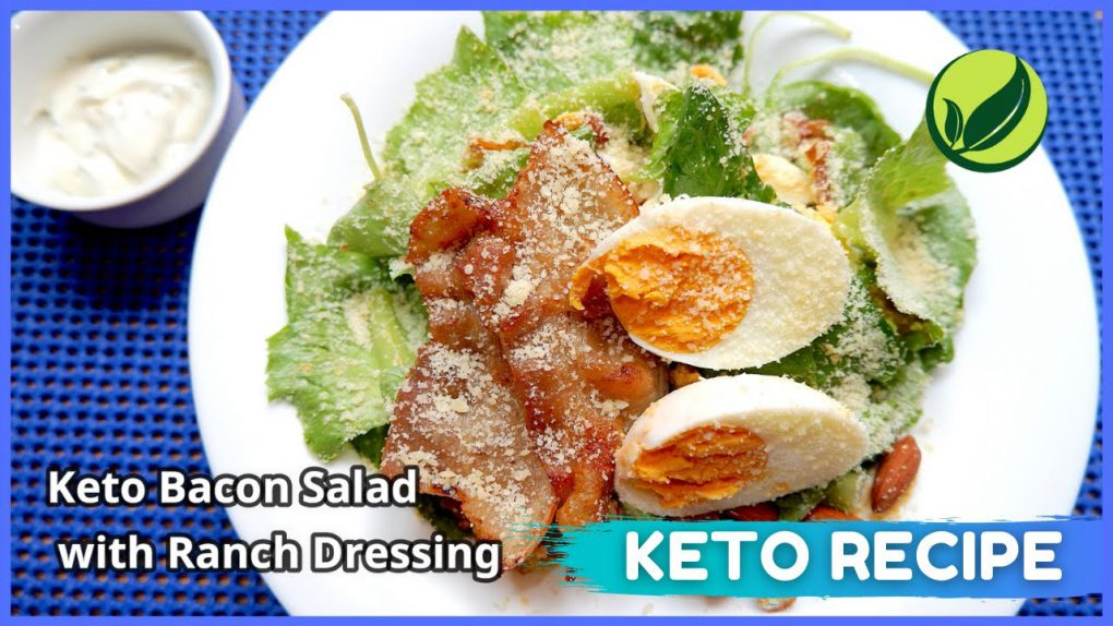 Keto Bacon Salad with Ranch Dressing | Best Keto Diet Recipe For Weight Loss #29