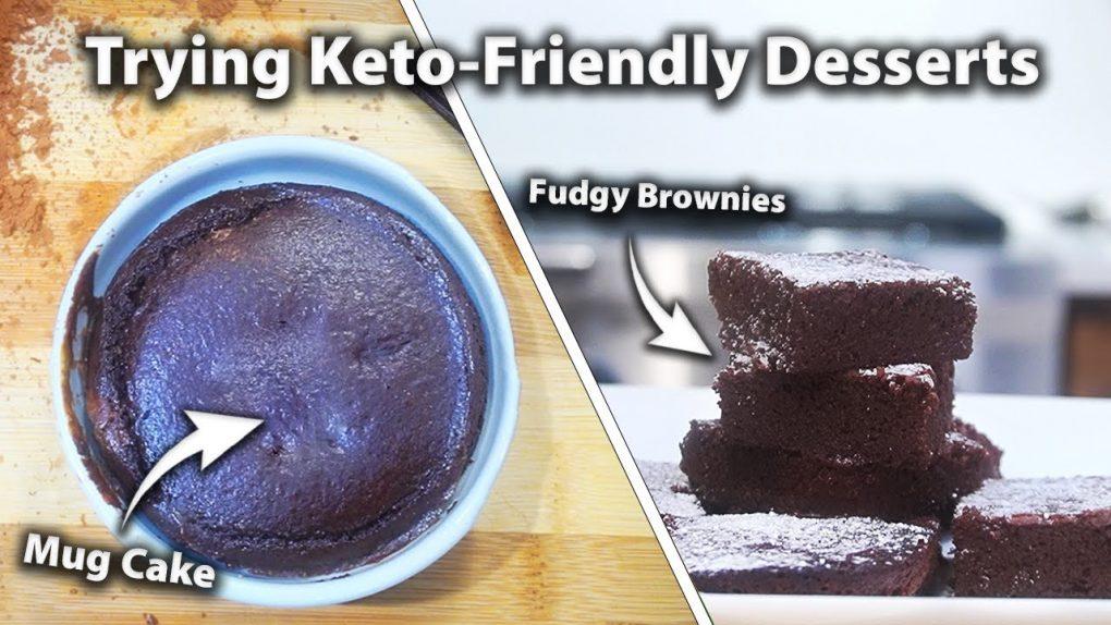 Trying Keto Desserts that Actually Taste Good | Keto Dessert Recipes