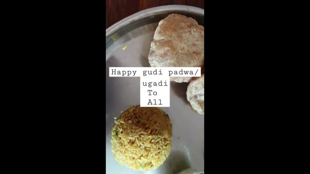 #shorts gudi padwa special thali/special vegetarian thali/maharashtrian thali recipe/ugadi special