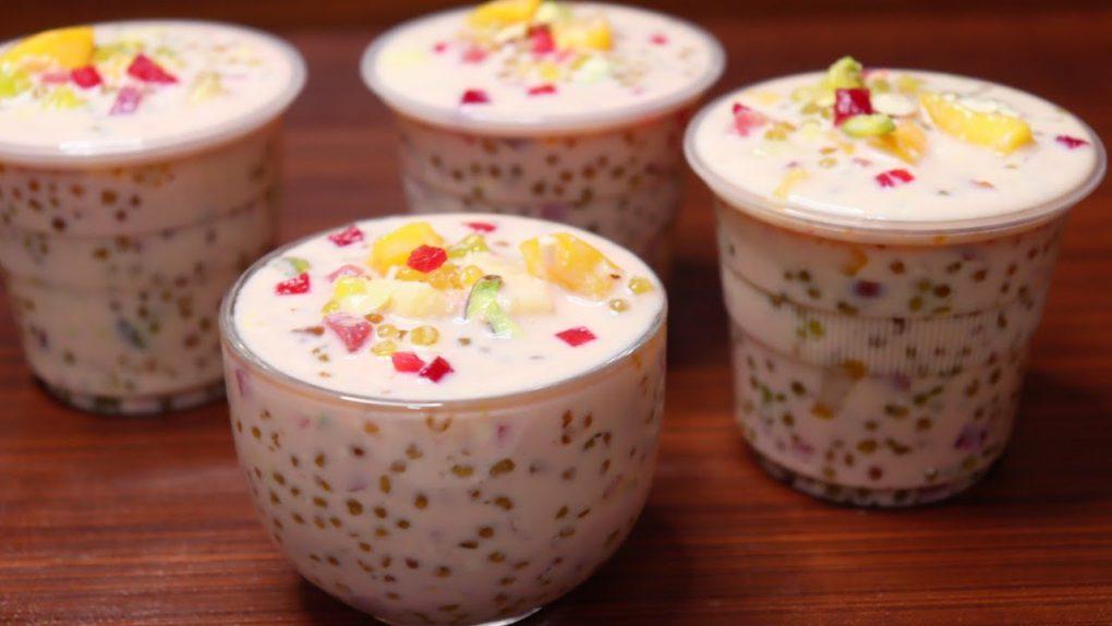 Sabudana Desert | Ramadan Iftaar Drink | Easy Fruit Dessert | Ramzan special Doodh ka Sharbath