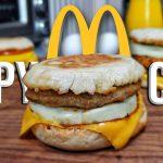Egg McMuffin Recipe | Copycat Recipes | Breakfast Sandwich