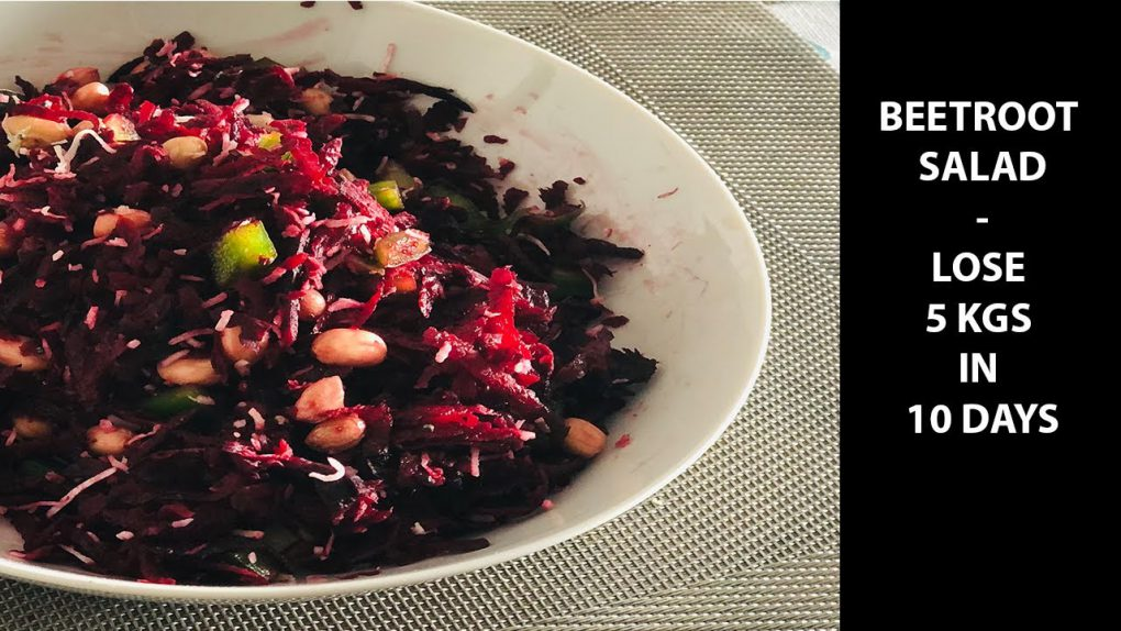 Sadhguru Salad Recipe For Weight Loss | Lose 5Kg In 10 Days | Beetroot Salad Recipe | FABFoodies