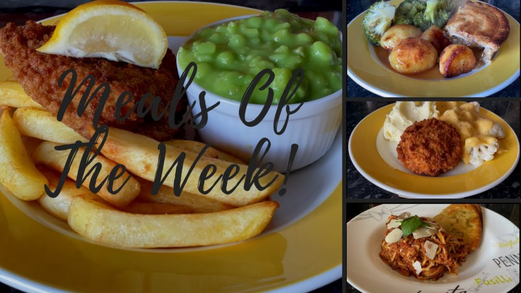 Meals of the week 5th – 11th April :) | Family dinners