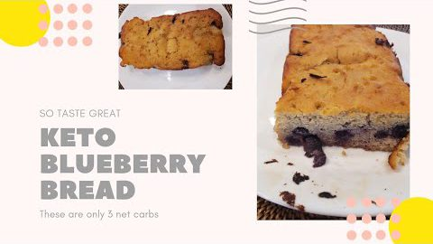 Keto Blueberry bread #keto blueberry bread #keto breakfast #keto recipes