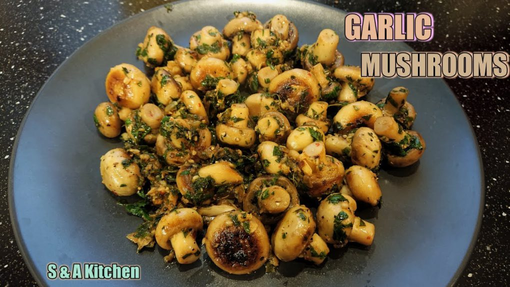 Side Dish Garlic Mushroom And Onions Recipe