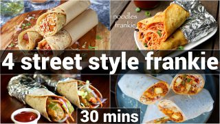4 mumbai street style frankie recipes with frankie masala   street style kathi roll with masala