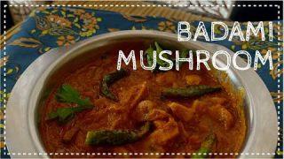 Badami Mushroom   Simple Side dish   Easy mushroom recipe   Indian main course   Mushroom Gravy