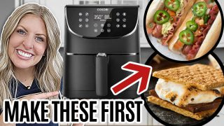 6 EASY Air Fryer Recipes for Beginners – MAKE THESE FIRST!