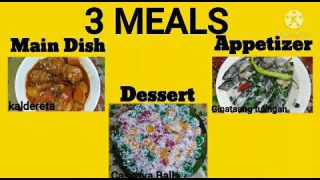 3 MEALS IN ONE VIDEO