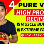 4 HIGH PROTEIN RECIPES For VEGETARIANS | Pure Veg High Protein Recipes For Gym Diet