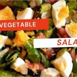 MIXED VEGETABLE SALAD|EASY TO MAKE VEGETABLE SALAD RECIPE