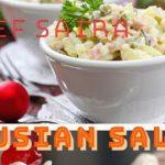 Russian Salad Recipe Healthy Salad Recipe Russian Salad by kitchn with saira