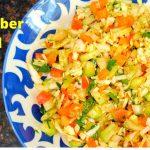 Kachumber Salad | Indian Salad Recipe