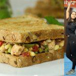 High Protein Veg Sandwich Recipe | Healthy Recipes By Chef Kanak