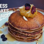 Fluffy Pancakes (without egg) and Apple Sauce   पेनकेक्स   Breakfast Recipe   Kunal Kapur Recipes