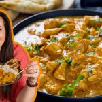 My super simple Chicken Korma recipe, ready in less than 30 minutes!