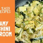 Easy Vegetarian Keto Recipe – Creamy Mushroom Zucchini | Low Carb High Fat Recipe
