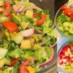 # Fresh & # Healthy # salad Recipe