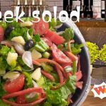 Easy Greek salad Recipe ,super healthy and delicious ,how to cook