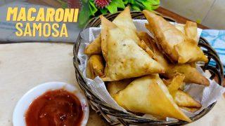 Macaroni Samosa recipe by Neelam's Kitchen.