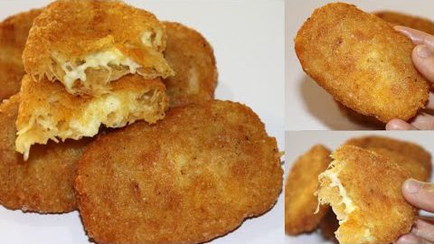 Hash Brown Recipe,Cheese Hash Brown, Quick And Easy Breakfast Recipe