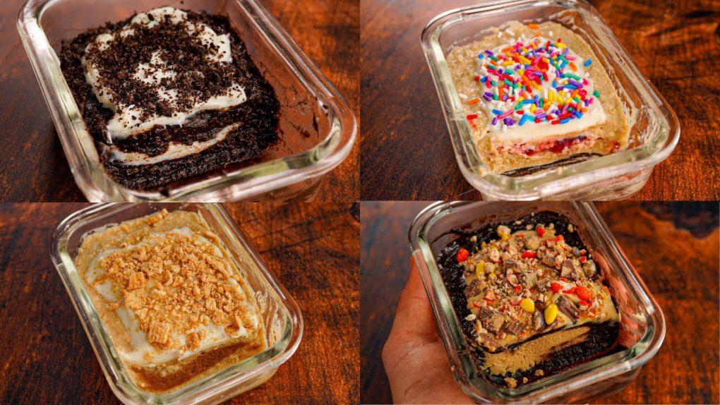 4 Protein Pop Tart Oatmeal Recipes   Easy Low-Calorie Breakfast Ideas