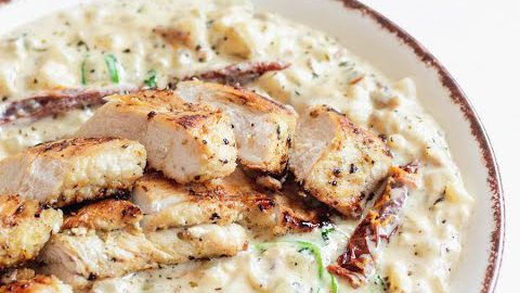 Keto Diet Recipes (Part 78): Keto Creamy Chicken