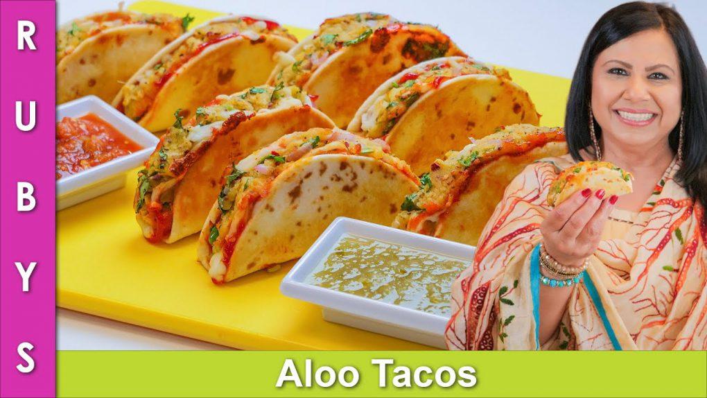 Aloo ke Tacos Super Easy Potato Tacos for Sehri Ramadan 2021 Recipe in Urdu Hindi   RKK