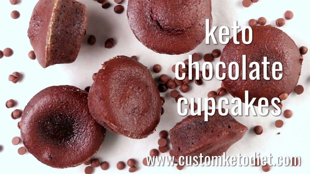 Keto Diet Chocolate Cupcakes Recipe