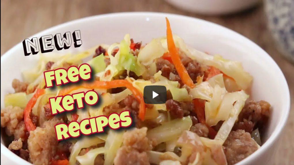 Keto Chili Black Bean Pork Cabbage Stir Fry Low Carb Recipe Free Keto Recipes Make Keto Easy