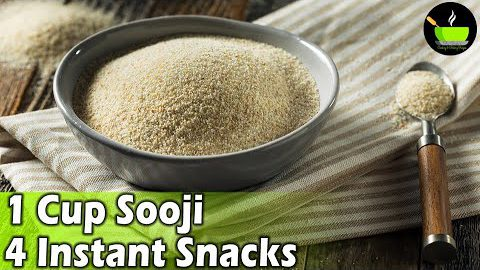5 Minute Easy Snacks Recipe | Evening Snacks | Lockdown Recipes | Sooji Recipes | Instant Snacks