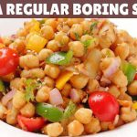 Your Favourite HIGH-PROTEIN VEGETARIAN SALAD For Weight Loss   Delicious Chickpea Salad Recipe