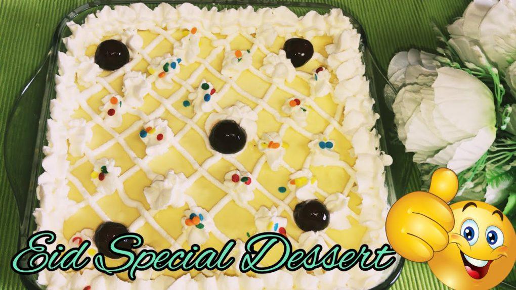 Eid Special Dessert Recipe || No Bake Eid Dessert || Food Diary by Hina Rohi