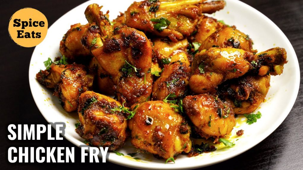 CHICKEN FRY FOR BACHELORS | SIMPLE CHICKEN FRY FOR BEGINNERS | CHICKEN FRY