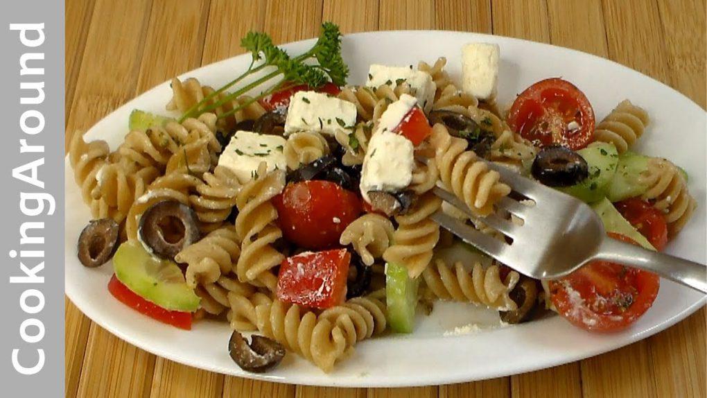 Greek Skinny Pasta Salad Recipe