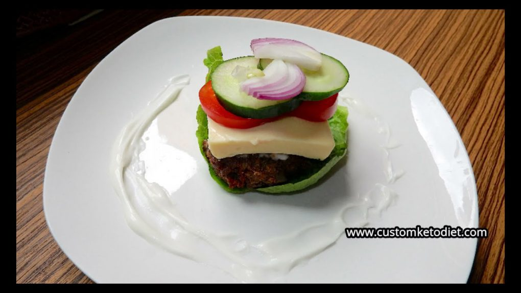 Keto Diet Cheeseburger Lettuce Wrap Recipe