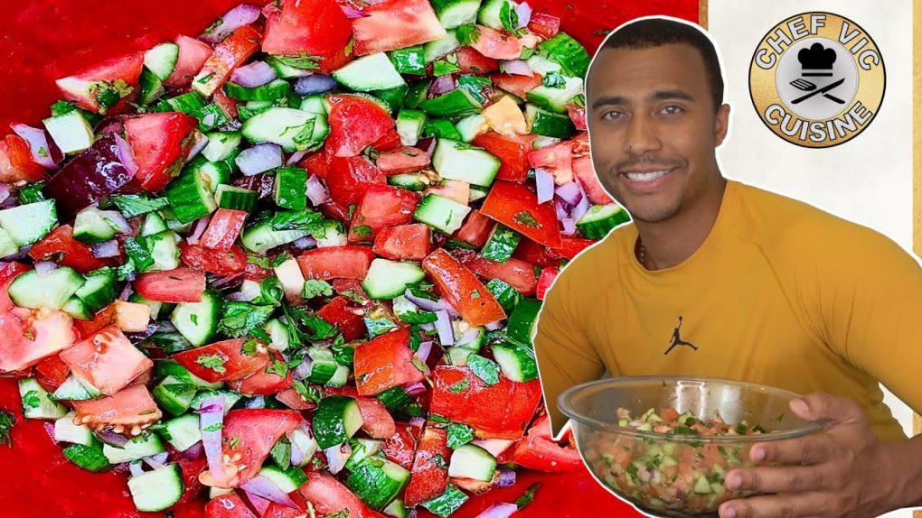 Mediterranean Salad Recipe! | Chef Vic Cuisine