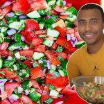 Mediterranean Salad Recipe!   Chef Vic Cuisine