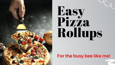 Easy Pizza Rollups #pizza #ketorecipes